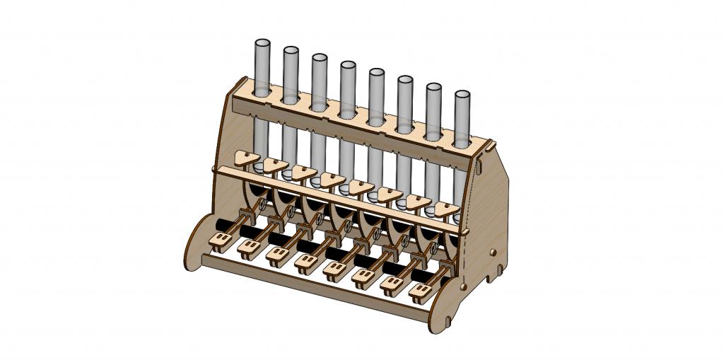 Klavirček - sestavi sam - HandOnBox