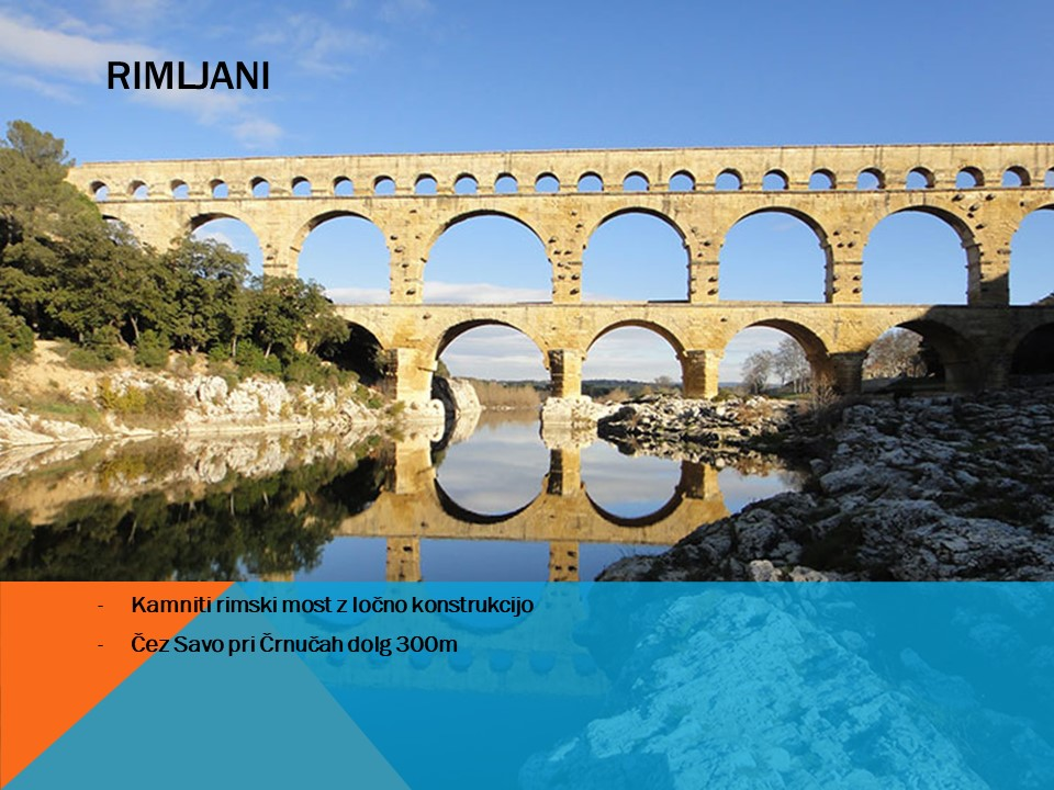 Rimljani so gradnjo mostov pripeljali na povsem novo raven. Inštitut 4.0. Robotika in programiranje.