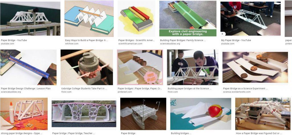 Papirnati mostovi. Inštitut 4.0. Robotika in programiranje.
