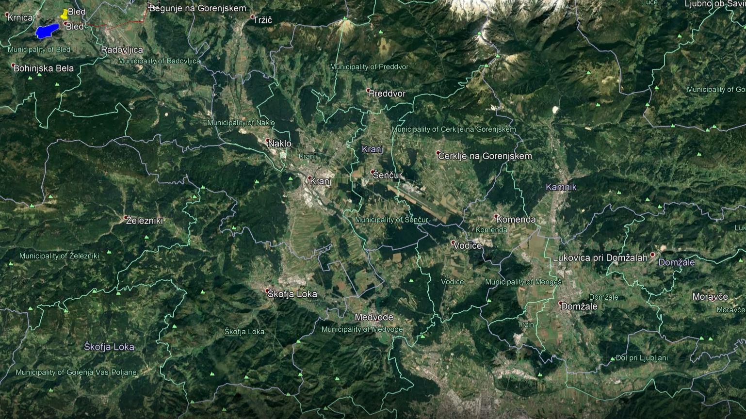 Triki za uporabo Google Earth
